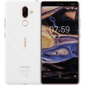 Produkt z outletu: Smartfon NOKIA 7 Plus Biały - 99999857306