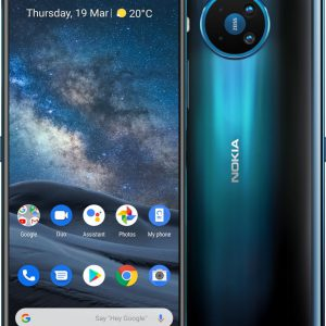 Smartfon Nokia 8.3 64 GB Dual SIM Niebieski - 5945434