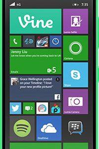 Smartfon Nokia Lumia 735 8 GB Zielony - 6341098