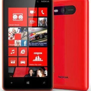 Smartfon Nokia Lumia 820 8 GB Czerwony - 6341099