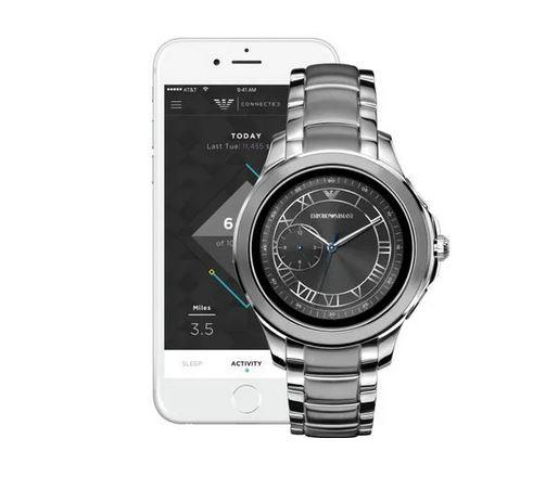 Emporio Armani smartwatch ART5010 M Silver Steel