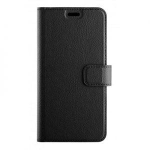Etui na smartfon XQISIT Slim Wallet Selection do Huawei P20 Czarny 32097