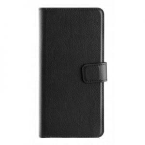 Etui na smartfon XQISIT Slim Wallet Selection do Huawei P20 Pro Czarny 32560