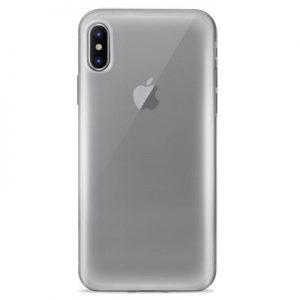 Etui na smartfon PURO Plasma Cover do Apple iPhone Xs Max Przezroczysty IPCX65PLASMATR