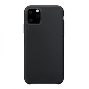 Etui na smartfon XQISIT Silicone do Apple iPhone 11 Pro Max Czarny 36730