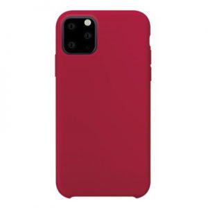 Etui na smartfon XQISIT Silicone do Apple iPhone 11 Pro Czerwony 36728
