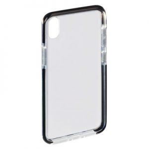 Etui na smartfon HAMA Protector do Apple iPhone X/iPhone XS Przezroczysto-czarny 185144