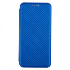 Etui na smartfon WG Evolution Karbon do Samsung Galaxy A40 Niebieski