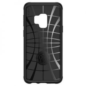 Etui na smartfon SPIGEN Rugged Armor Urban do Samsung Galaxy S9 Czarny 592CS22875