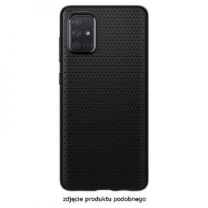 Etui na smartfon SPIGEN Liquid Air do Samsung Galaxy S20 Ultra Czarny matowy 39166