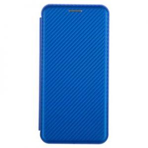 Etui na smartfon WG Evolution Karbon do Samsung Galaxy A50 Niebieski