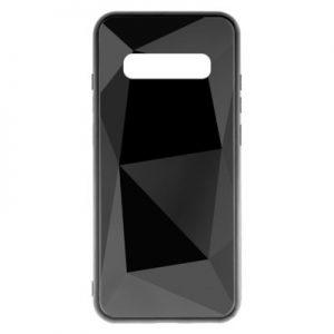 Etui na smartfon WG Prismatic 3D do Samsung Galaxy S10 Czarny