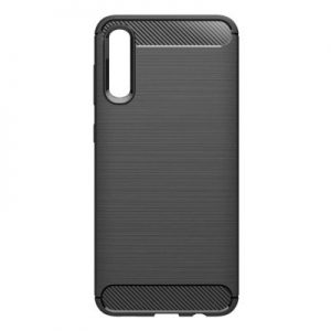 Etui na smartfon WG Carbon do Samsung Galaxy A70 (2019) Czarny