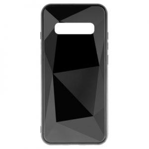 Etui na smartfon WG Prismatic 3D do Samsung Galaxy S10+ Czarny