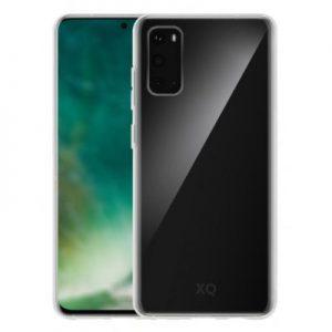 Etui na smartfon XQISIT Phantom Glass do Samsung Galaxy S20 Przezroczysty 38527