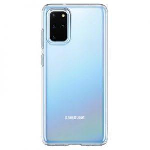 Etui na smartfon SPIGEN Liquid Crystal do Samsung Galaxy S20+ Przezroczysty 39186