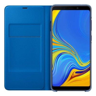 Etui na smartfon SAMSUNG Wallet Cover do Galaxy A9 (2018) Niebieski EF-WA920PLEGWW