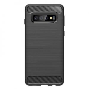 Etui na smartfon WG Carbon do Samsung Galaxy S10 Czarny