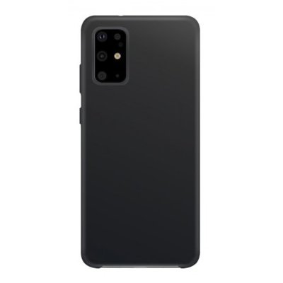 Etui na smartfon XQISIT Silicone do Samsung Galaxy S20+ Czarny 38971