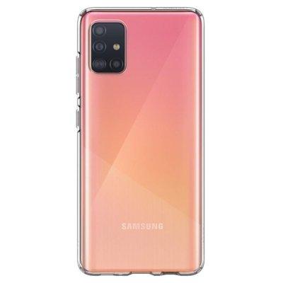 Etui na smartfon SPIGEN Liquid Crystal do Samsung Galaxy A71 Przezroczysty 39112
