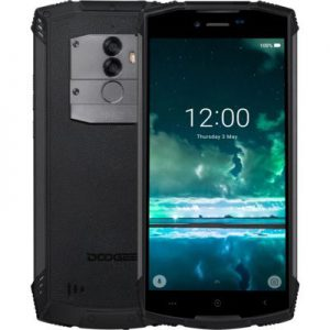 Smartfon DOOGEE S55 Czarny - 1391070