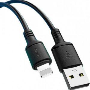 Kabel USB KAKU Kabel iPhone Lightning 2.8A 2m Szybkie ładowanie KAKU Yake (KSC-421) czarny.