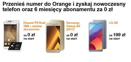orange smartfony