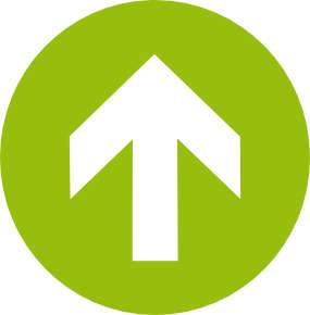 arrow top strzałka zielona