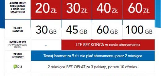 cyfrowy polsat lte abonamenty