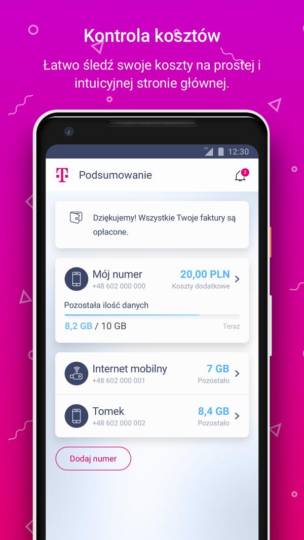 Mój T-Mobile Aplikacja