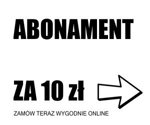 Abonament za 10zł