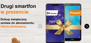 Orange drugi smartfon w prezencie