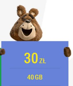 PLUSH internet 30GB
