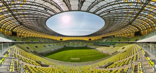 Stadion w Gdańsku
